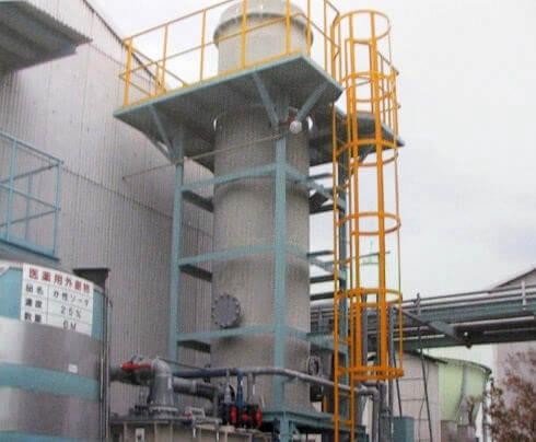 毒性ガス除害設備